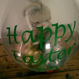 Easter Bunny Stuffed Balloon