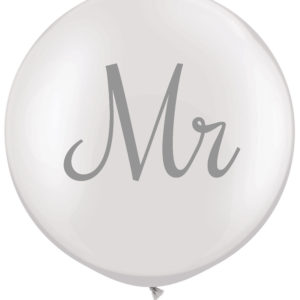 Pair of Mr & Mrs Balloons
