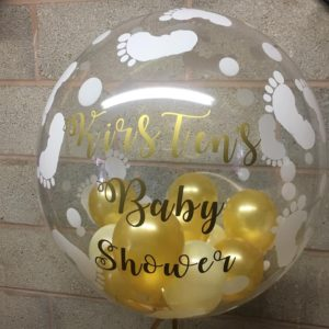 Baby shower bubble