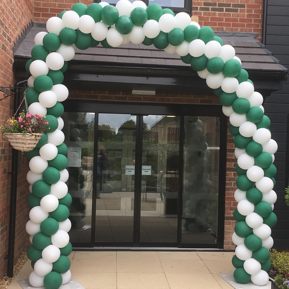 Balloon Arch for new site