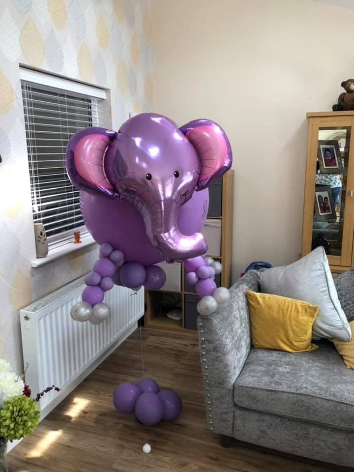 Elephant delivered
