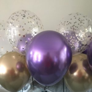 Purple and Gold Birthday