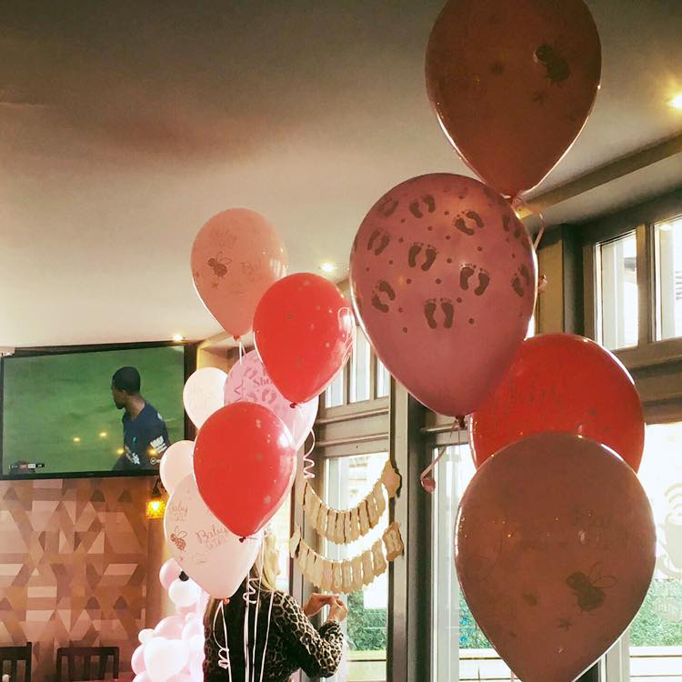 """50 Real Pink 5/"""" Latex Balloons Project Air Filled Party Mate Baby Shower Decor"""