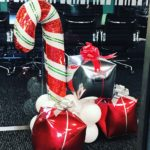 Candy Cane and Gifts