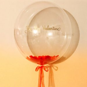 Valentine's Bubble Balloon