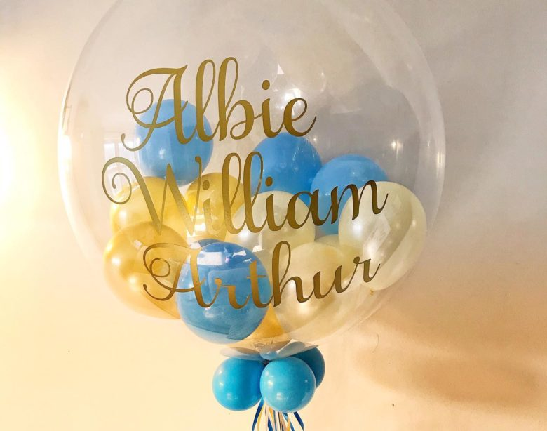 Albie's Christening Bubble