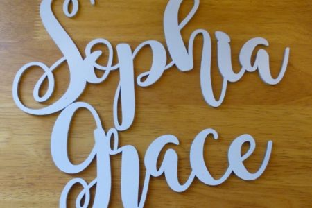 Sophia Grace Name Plate